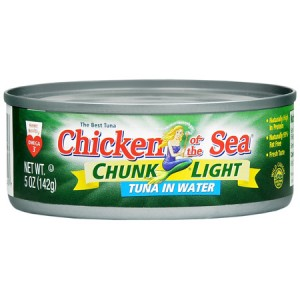 chicken of the sea chunk light tuna  87745 300x300 $0.50/1 Chicken of the Sea Coupon