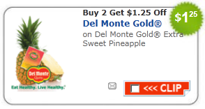 del monte fresh pineapple coupon