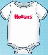 huggies onesie