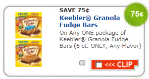 keebler fudge bars coupon