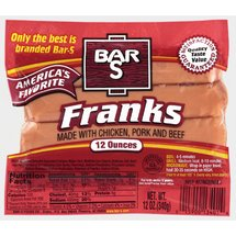 Kmart: Bar-s Hot Dogs for only $0.38