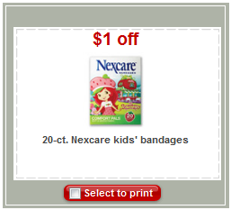 nexcare bandages coupon