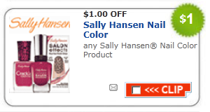 sally hansen nail color  product coupon