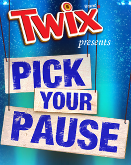 twix pick your pause games