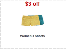 women's shorts target coupon