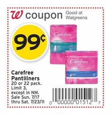 carefree coupon walgreens