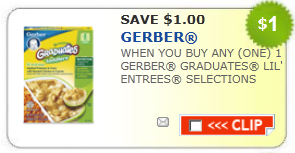 gerber lil entrees coupon