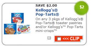 kelloggs poptart coupon