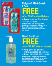 menards freebies
