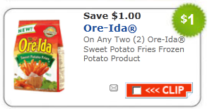 ore idea potato fries coupon