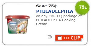philadelphia creme coupon