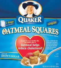 quaker oatmeal squares sample