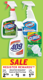 walgreens clorox clean up deal