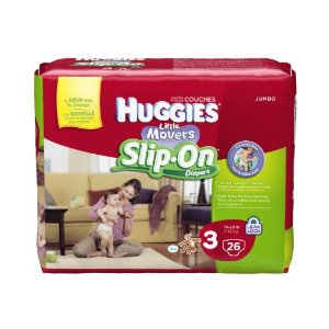 Amazon: Huggies Slip-On Diapers $5.63 per Jumbo Pack + Shipped FREE