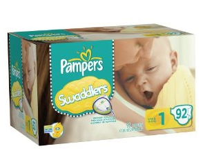 amazon pampers size 1