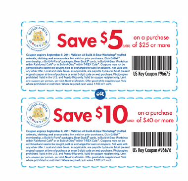 new build a bear printable coupons