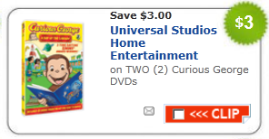 curious george dvd coupon