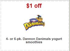danimals target coupons