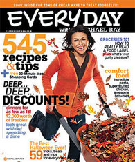 Everyday with Rachael Ray Magazine Subscription for only $5.06 plus up to 15% Back