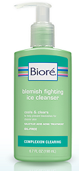 FREE Sample of Biore Blemish Fighting Ice Cleanser