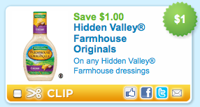 hidden valley dressing coupons
