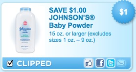 johnson's baby powder coupon
