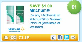 mitchum deodorant coupon