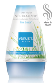 New $1/1 Renuzit Coupon = Free Adjustables