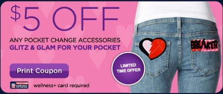 pocket change accesories coupon