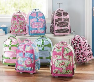 Pottery Barn Kids 50 Rolling Backpacks Free Shipping