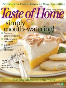 Taste of Home Magazine Subscription for only $3.99 per Year