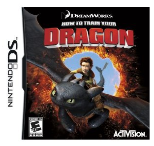 train your dragon ds