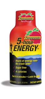 5 hour energy sample