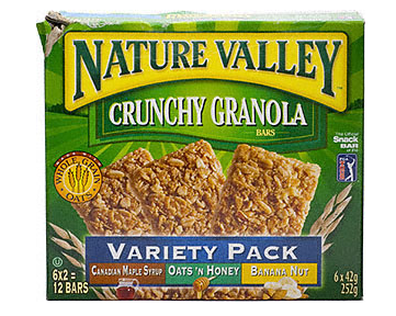 Nature Valley You and your family deserve only the best ingredients, and that's exactly what you'll find in every delicious bite of Nature Valley snacks and cereals. You and your family deserve only the best ingredients, and that's exactly what you'll find in every delicious bite of Nature Valley snacks a.