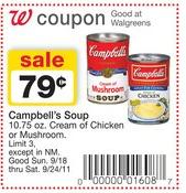 campbells soups walgreens
