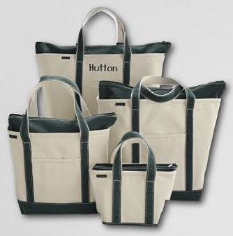 canvas totes lands end