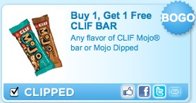 clif bar printable coupon