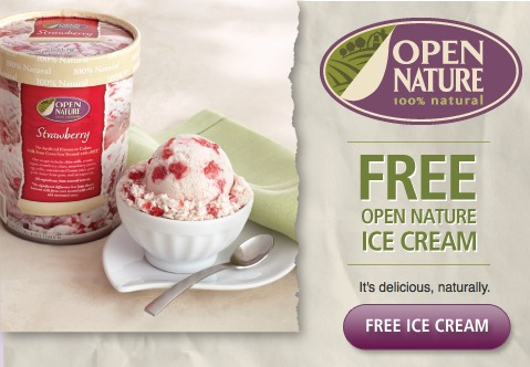 free open nature ice cream
