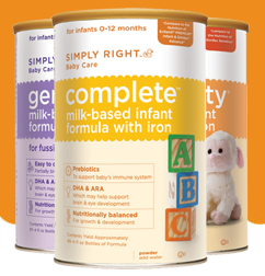 Free Sample of Simply Right Baby Formula!