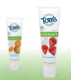Tom's of Maine Kid's Toothpaste printable coupons