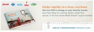 gather round coupon booklet