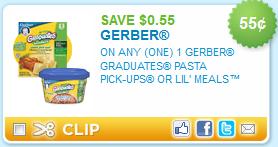 gerber graduates coupons