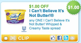 i cant believe its not butter printable coupons