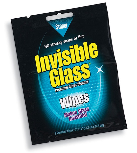 invisible glass wipes