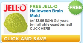 jello brain mold