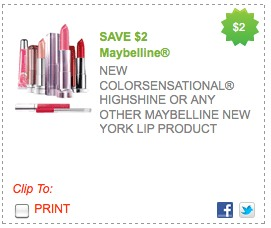 maybelline lip color coupon