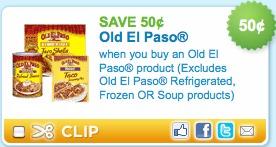 old el paso coupon