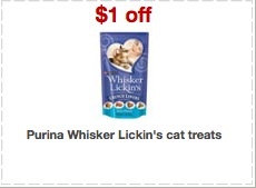 purina whisker lickin coupons Free Purina Whisker Lickins at Target