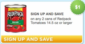 redpack tomatoes coupon