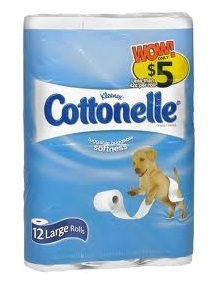 $3/1 any 12 pack Cottonelle Bath Tissue (Nevermind, Canada only!)
